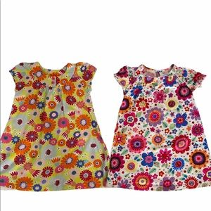 Hanna Andersson set of two floral dresses, 4/5